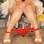 Patty Cake Candy Stripper Nurse Costume - Picture 5