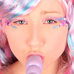 Patty Cake Candy Girl Purple Toy Fun - Picture 15